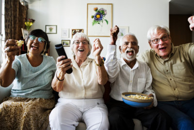 a joyful seniors